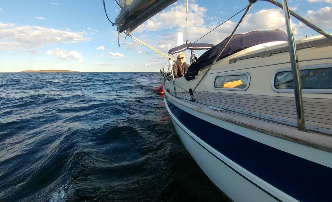 Minna veneessä